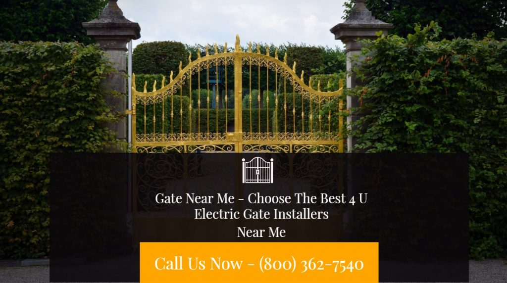 Electric Gate Installers Near Me - Electric Gate Installers | Cheap Electric Gate Installers