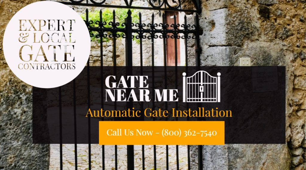 Automatic Gate Installation - Automatic Gate Installation In San Jose | Automatic Gate Installation In California